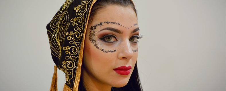 Maquillaje de fantasía para carnaval